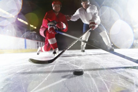 two-hockey-players